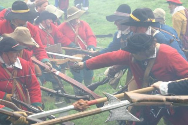 Sir Henry Vaughan's Company of the Sealed Knot Society: Reenactment